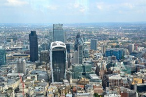 The City of London saw a significant rise in the amount of commercial office space being let out in QI 2015