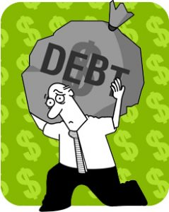 The busin ess may wish to consider a commercial mortgage to clear other debts that it has.